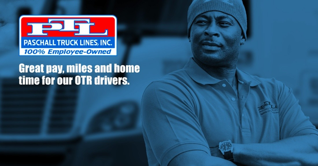 Paschall Lines (PTL) is looking for truck drivers.
