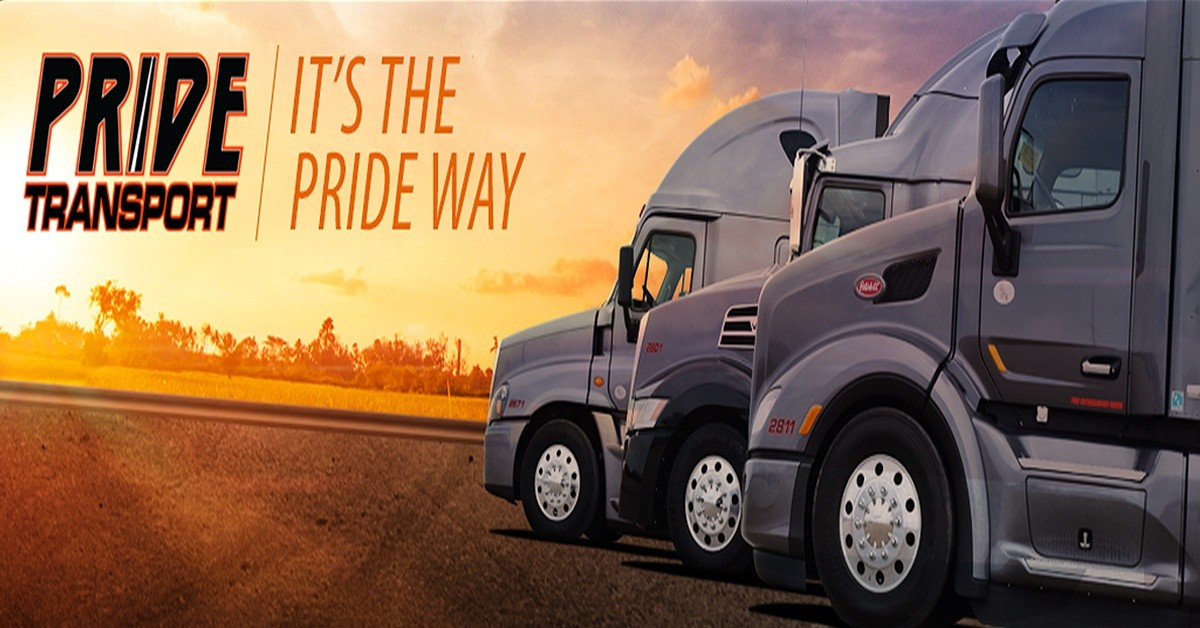 Pride Transport is looking for truck drivers.
