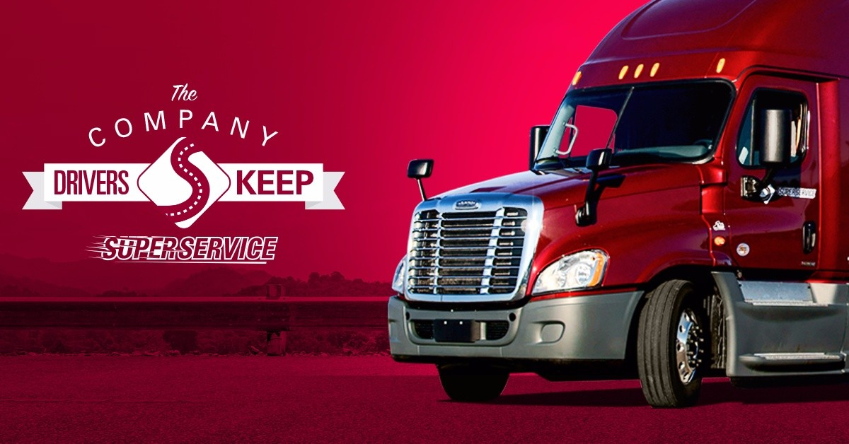 Super Service is looking for truck drivers.