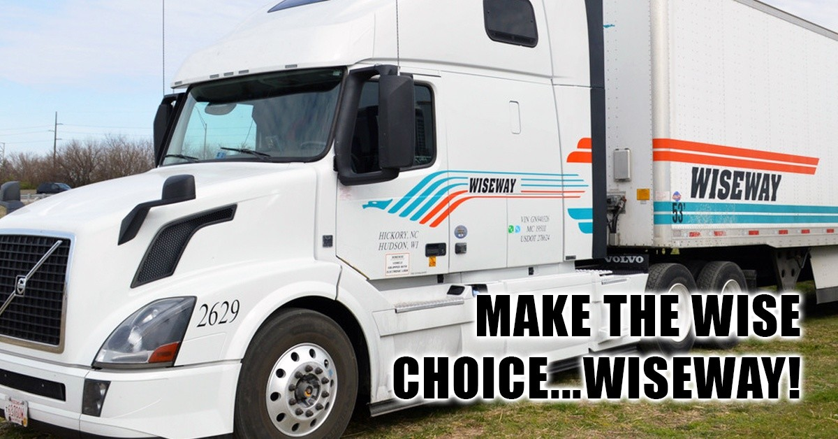 Wiseway Transportation is looking for truck drivers.