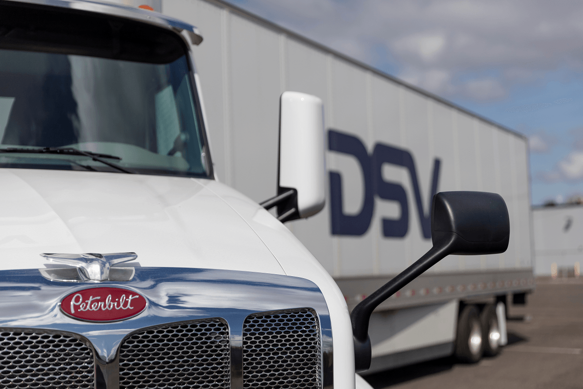 DSV is looking for truck drivers.